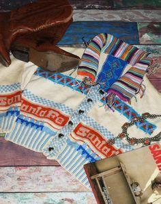 One off knitted boho jacket/cardigan. 10-12. Find me on ebay - aragornswife Messenger Bag, Satchel, Flat, Boho, Jackets, Style, Fashion, Satchel Purse, Down Jackets