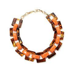 Rara Avis by Iris Apfel Tortoise Shell-Color Necklace