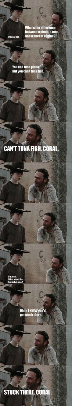 I'm going to have to make a whole board dedicated to these Walking Dead memes!