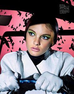 vertigo in her eyes: patricia van der vliet by lacey for vogue japan september 2013