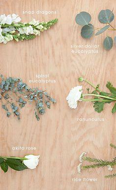 Gorgeous DIY eucalyptus and ranunculus wedding bouquet {Wine Glass Writer}