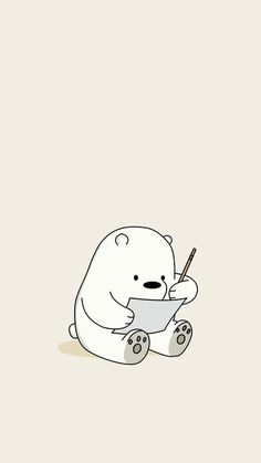 Kawaii Ice Bear Iphone We Bare Bears Wallpaper We Bare Bears Wallpapers, Panda Wallpapers, Cute Cartoon Wallpapers, Cute Wallpapers For Ipad, Iphone Wallpapers, Ice Bear We Bare Bears, We Bear, Cute Disney Wallpaper, Kawaii Wallpaper