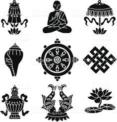 Image result for 7 tibetan symbols