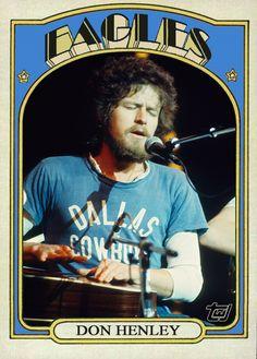 Fun Cards: 1972 Topps Glenn Frey, Don Henley, Bernie Leadon, and ...