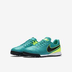 Nike Jr. Tiempo Legend VI TF (10c-6y) Little Big Kids  Turf Soccer Shoe c065a2edd
