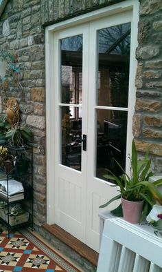 ideas for backyard dining ideas french doors Porch Windows, Porch Doors, House Doors, Back Doors, Windows And Doors, Entry Doors, Garage Doors, Interior Glazed Doors, Interior Barn Doors