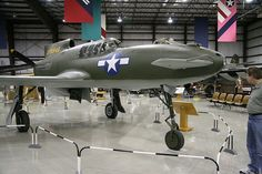 This one is beyond rare, beyond bizarre. It's the Curtiss XP-55 Ascender at the Kalamazoo Air Zoo.