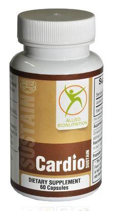 CardioSustain, 60 capsules Promotes Cardiovascular Health