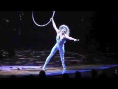 Cirque du Soleil - Amaluna w/ Marie-Michelle Faber - Vocal aerial Hoop - Cerceau Chanté - Live - YouTube