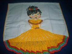eu amo artesanato: bonecas de croché