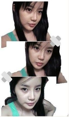 Bom without make up