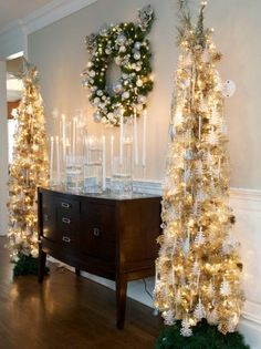 Tiki Barber's Christmas Decor