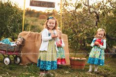 Apple cider at the apple orchard in our knot dresses styled session www.facebook.com/whitedaffodilphotography