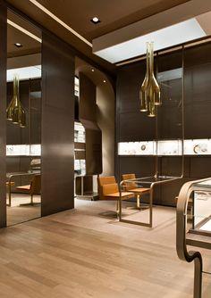 Faraone jewellery boutique by Iosa Ghini Associates, Milan