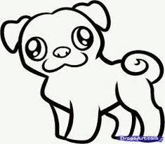 Image result for pictures of pug unicorn to print and color