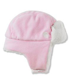 Carhartt Medium Pink Sherpa Bubba Earflap Beanie