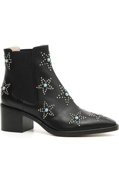 Valentino Star Studded Bootie (Women) available at #Nordstrom