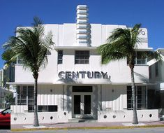Chapter 26 - Art Deco, Art Moderne - Architecture - Century Hotel, 1935 - 1939; Miami Beach, Florida; Henry Hohauser