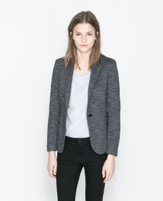 Image 2 of MARL BLAZER from Zara