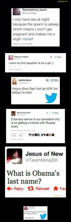 Top 5 Dumbest Tweets