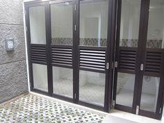 kitchen: folding doors