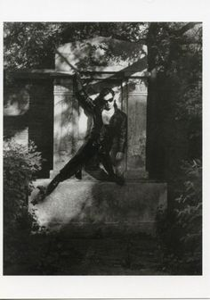 Bono of U2 by Herb Ritts, Vienna, Austria 1992.