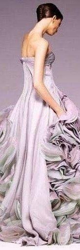 Gala Dresses, Formal Dresses, Lilac Bridesmaid Dresses, Color Violeta, Color Lila, Grown Women, Purple Lilac, Periwinkle, Couture Collection