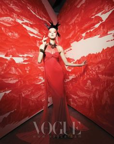 Vogue Korea 15 Years Editorial Art & Craft Photography by Hyea W. Photography Backdrops, Image Photography, Editorial Photography, South Korea Fashion, Red Images, Vogue Editorial, Fashion Background, Vogue Korea, Silhouette