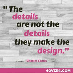 every detail in design is important - Are You Creative Do You Consider Yourself Creative