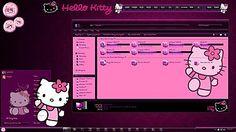 Hello Kitty Windows 7 Theme by TheBull