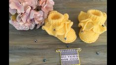 Baby Knitting Patterns, Baby Patterns, Baby Booties, Winter Hats, Crochet Hats, Socks, Youtube, Crochet Baby Sandals, Made By Hands