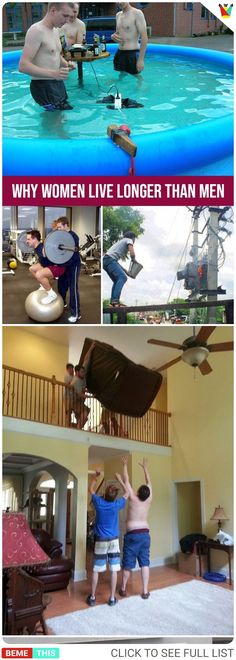 Here Are Authentic Reasons Why Women Live Longer Then Men 20 Authentic Reasons Why Women Live Longer Then Men Wtf Funny, Funny Facts, Hilarious, Weird Pictures, Crazy Photos, Senior Humor, Laughter Therapy, Haha So True, Memes