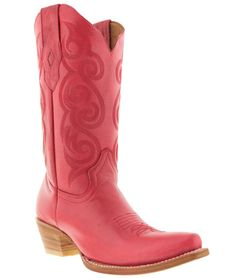 women's caroline pink western leather cowboy boots rodeo cowgirl ladies riding #TexasLegacy #CowboyWestern