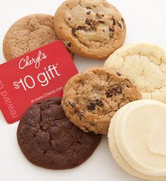 6 Free cookies and a $10 gift card!  www.MaMaCHANGE.com