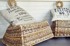 hotel mama: Inspiroiva yrttitarha Straw Bag, Burlap, Reusable Tote Bags, Lifestyle, Hessian Fabric, Jute, Canvas