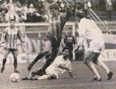Gualco contro il Messina nell'88/89