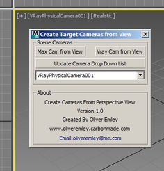Create Vray Camera from Perspective View
