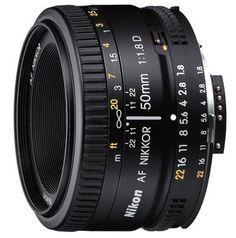 Nikon 50mm f/1.8D AF Nikkor Lens for Nikon Digital SLR Cameras Nikon