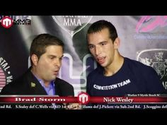 Warfare 9 Post Fight Interview With Nick Wesley