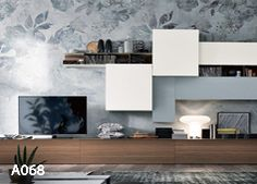 Tv Furniture, Living Room Furniture, Tv Stand Bookshelf, Modern Tv Wall Units, Walk In Closet Design, Tv Wall Design, Home Office Design, Living Room Designs, Interior Design