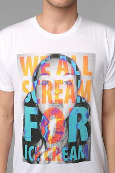 We All Scream Tee #urbanoutfitters
