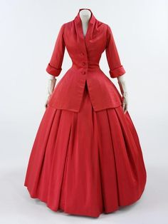 Christian Dior New Look, transcending into the 1950s
