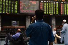 Karachi Stock Exchange Loss 1409 Points