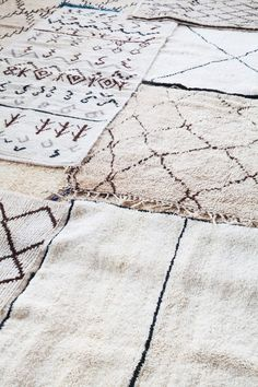 Azilal Rugs from Marrakech Project Bly// HAATI CHAI