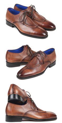 Paul Parkman Split Toe Men's Brown Derby Shoes  Website: www.paulparkman.com . . .   #paulparkman #derbyshoes  #handmade #bespoke #luxury #shoemaker #handcrafted #shoesformen #mensshoes #handmadeshoes #mensfashion #patinashoes #bespokeshoes #luxuryshoes #shoeaddict #shoegasm Toe Shoes, Shoes Men, Brown Derby, Skor, Formal Shoes For Men, House Elevation, Derby Shoes, Men's Boots, Style Men