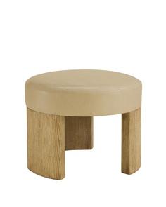 Round stool ottoman