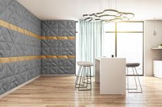 Mindennapi luxus, mely a MOPA 3D Dekorpanelekkel könnyedén elérhető! A matt antracit ARTDECO és lágy satin fényű GEOM falpanelek kombinációja ámulatba ejtő!  #mopadekor #mopadekorpanel #3dfal #3dfalpanel #3ddekor #3ddekorpanel #falpanel #dekorpanel #falpanelgyártó #dekorpanelgyártó #dekorpanelek #belsőépítészet #lakberendezés #lakberendezesiotletek #konyha #étkező #konyhadekor #modernkonyha 3 D, Divider, Room, Furniture, Home Decor, Luxury, Homemade Home Decor, Rooms, Home Furnishings