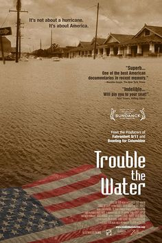All The Oscar-Nominated Documentaries You Should Stream #refinery29  http://www.refinery29.com/oscar-nominated-documentaries#slide-4  Trouble the Water (2008) This 2008 doc is a redemptive tale of a young married couple on society's margins enduring the aftermath of Hurricane Katrina in the face of massive devastation and the repeated failures of government to provide disaster relief.Streaming: Hulu Plus