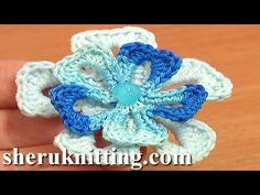 Super Easy Crochet Flower Tutorial 74 Free Crochet Flower Patterns
