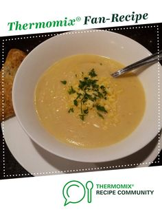 Carola's Cauliflower Soup by Carola Cocacola. A Thermomix <sup>®</sup> recipe in the category Soups on www.recipecommunity.com.au, the Thermomix <sup>®</sup> Community.